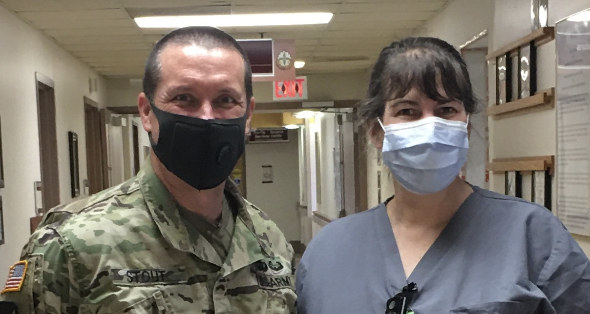 Col. Dawn Flynn, '89, Comes Out of Retirement to Serve During Pandemic