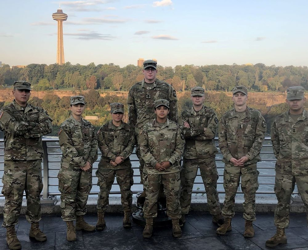 Seven Cadets Commissioned During Ceremonies at Niagara University