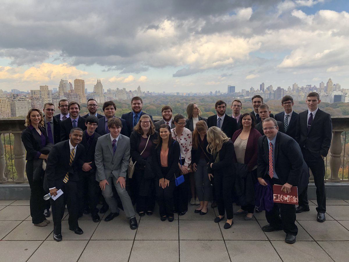Sport Management Students Take Bite Out of Big Apple