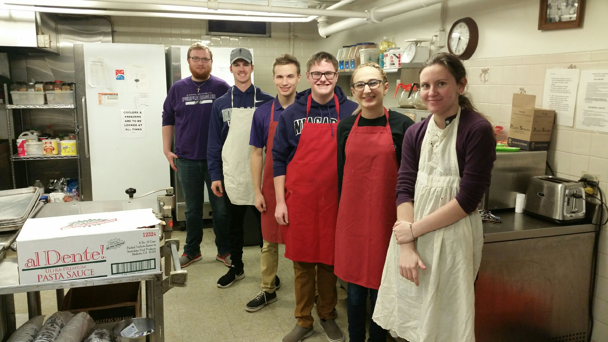 Niagara University Students Support Needy Families Through #GivingTuesday
