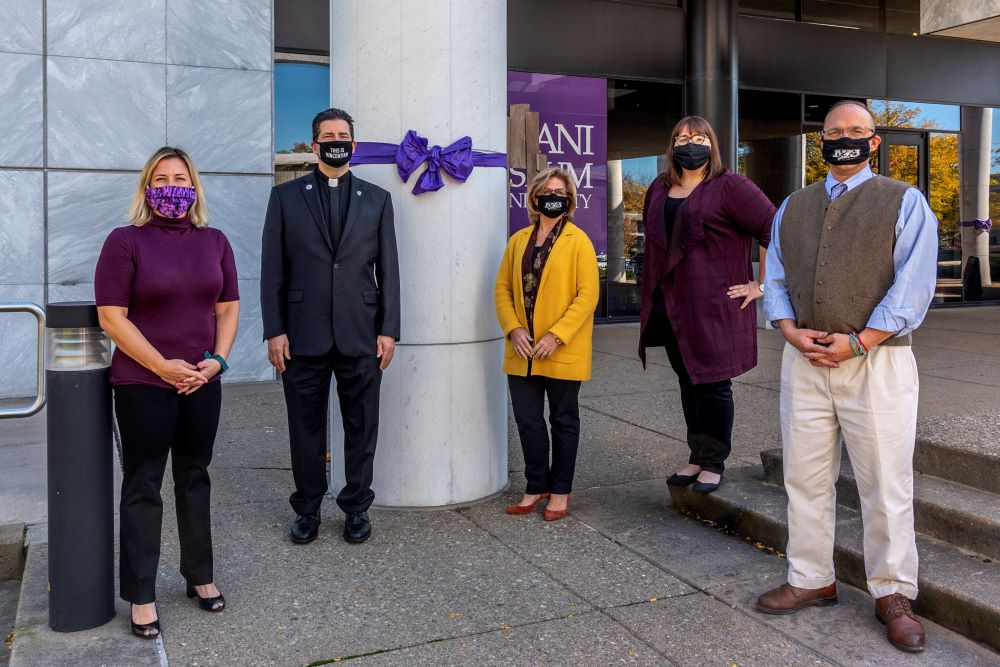 Niagara University Observes Domestic Violence Awareness Month