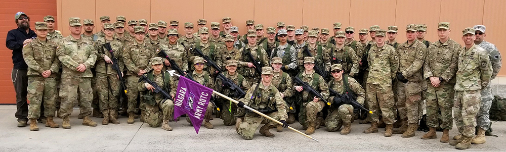NU Purple Eagle Battalion Participates in Combined Field Training Exercise