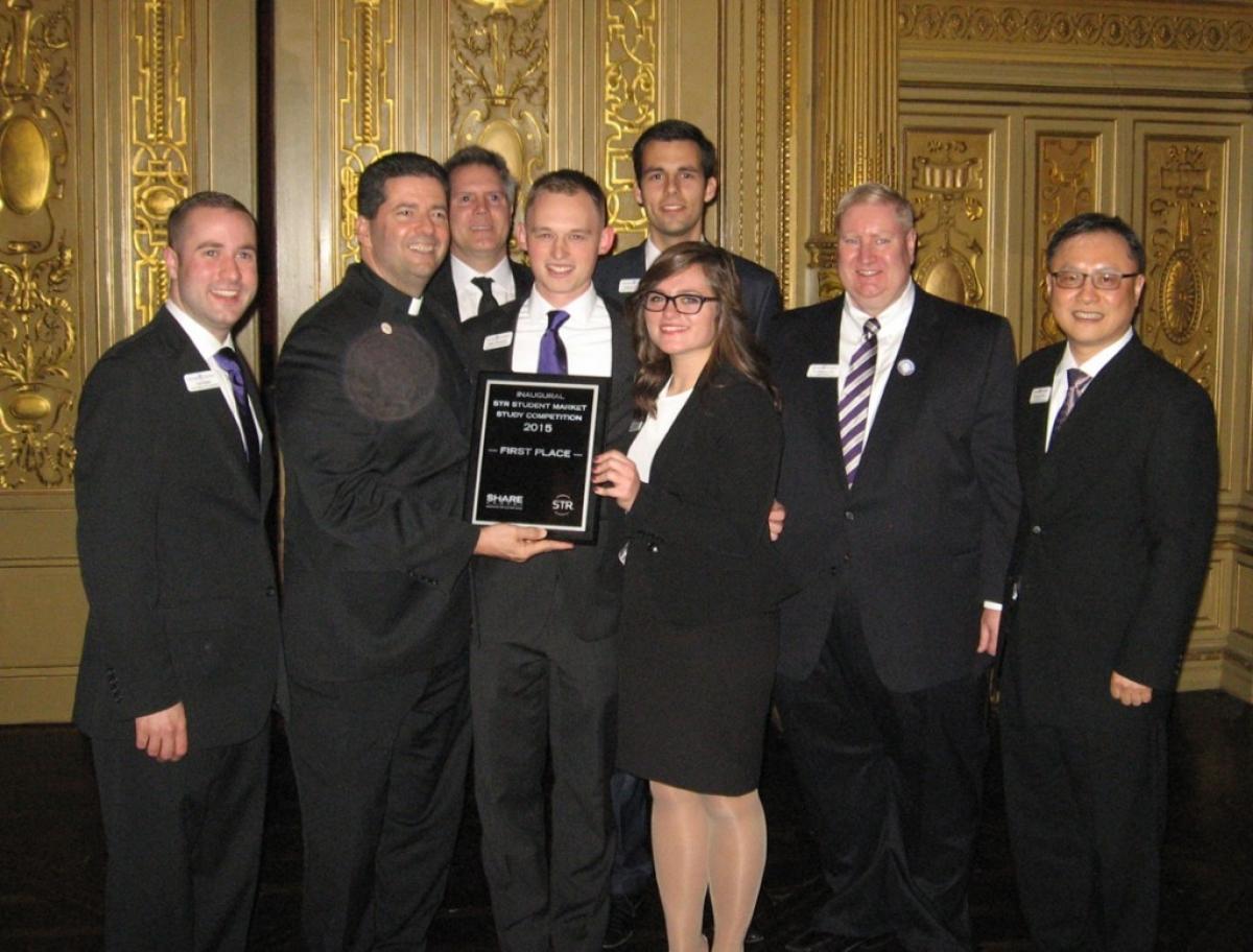 NU Students Earn Top Honors At Inaugural Smith Travel