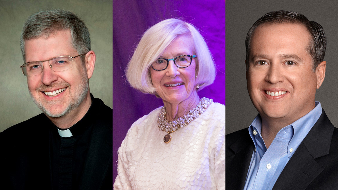 Father Holtschneider, Jacobs-Vogt, Nicholson Named to Niagara University Board of Trustees
