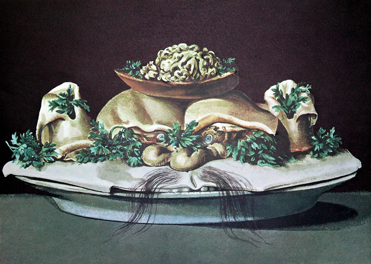 Salvador Dali 'Cookbook' Art Exhibition Traveling from Niagara University to Finland