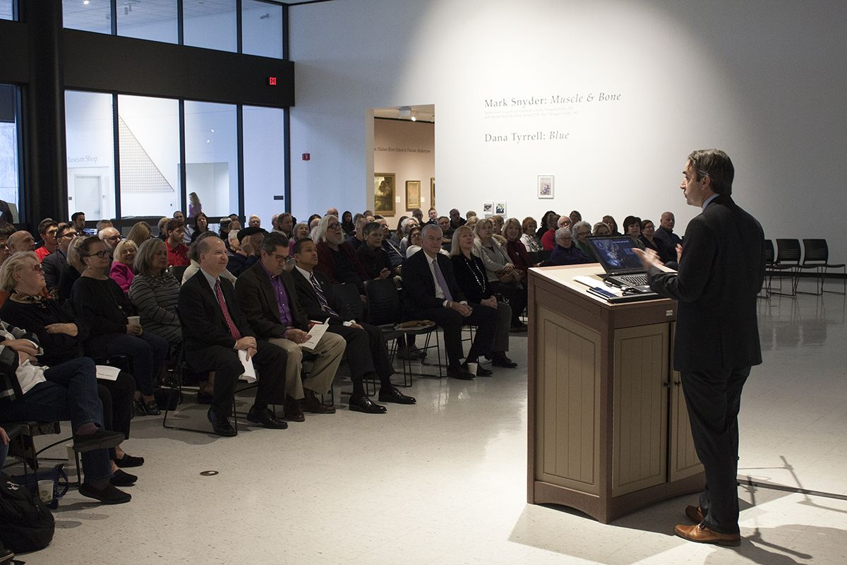 FBI Special Agent Discusses Art Crime at Sold Out Niagara University Event