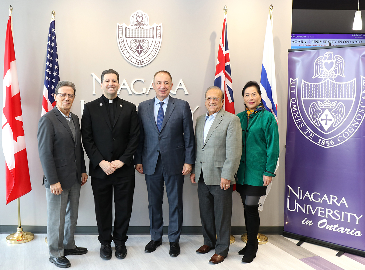 Niagara University Continues Vision to Become Premier Binational University in Ontario with Addition of New Master's Degree Programs