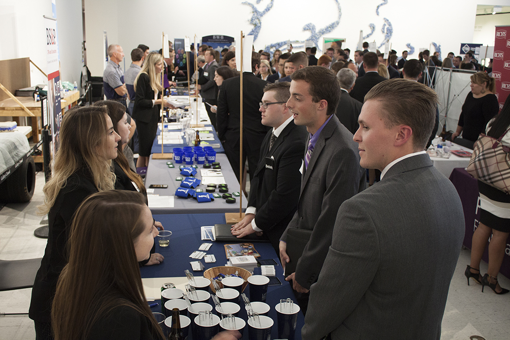 Meet the Accounting and Finance Professionals Night Draws Capacity Crowd