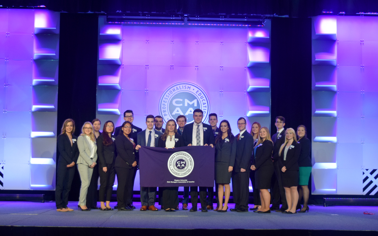 Niagara University's CMAA Student Chapter Best in Country for 9th Straight Year