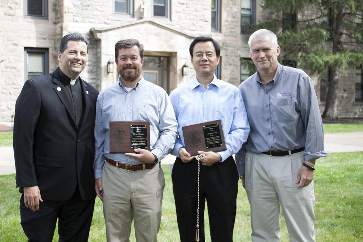 Niagara University Announces 2017 Faculty Award Winners
