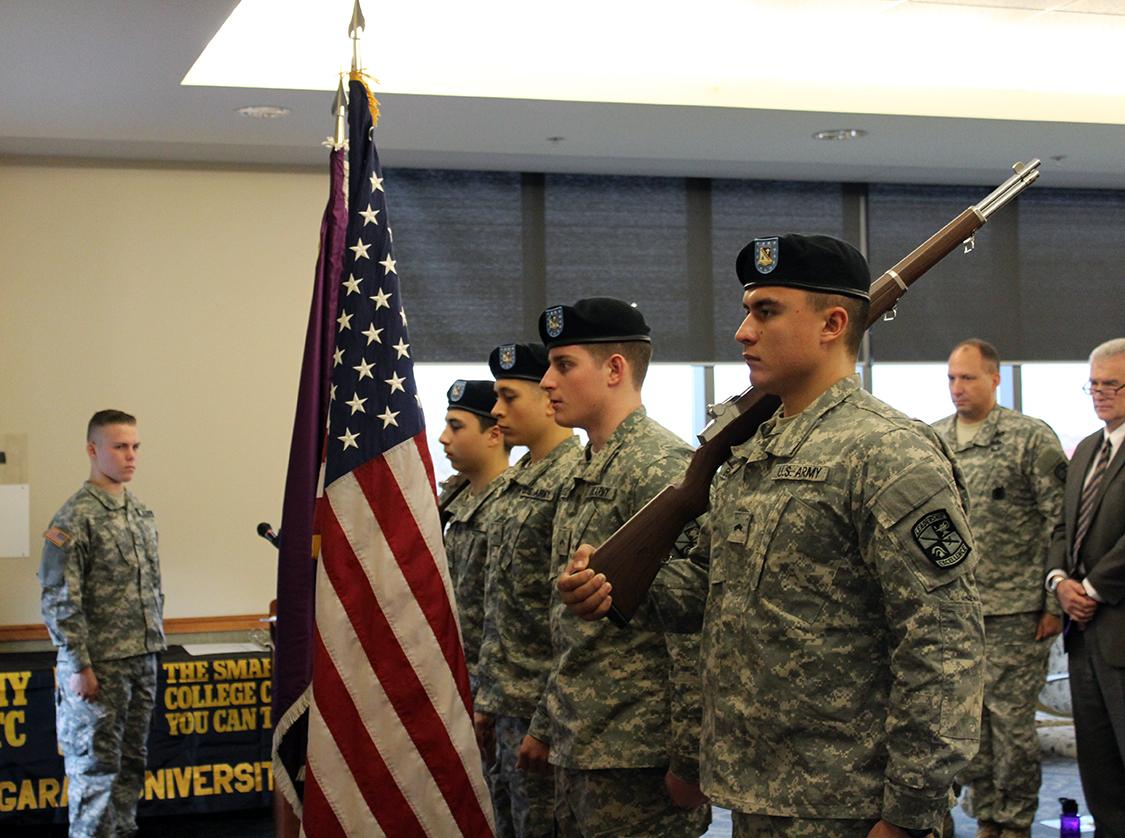 Niagara University ROTC Program Places Third in Nation on Outcome Metrics List