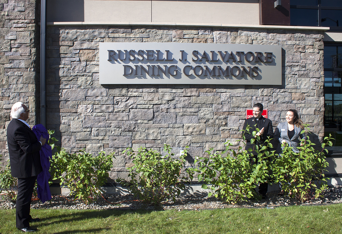 Niagara University Renames Dining Facility After Russell Salvatore