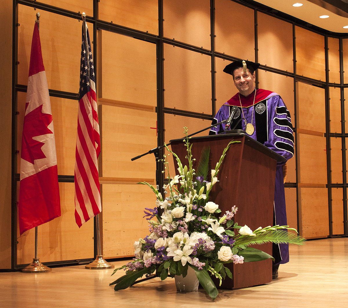 Niagara University Holds 11th Commencement in Ontario