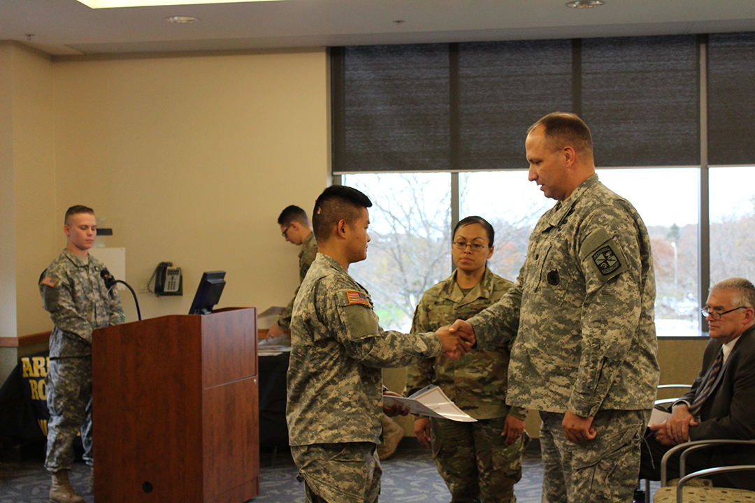 ROTC Program Holds Fall 2017 Awards Ceremony